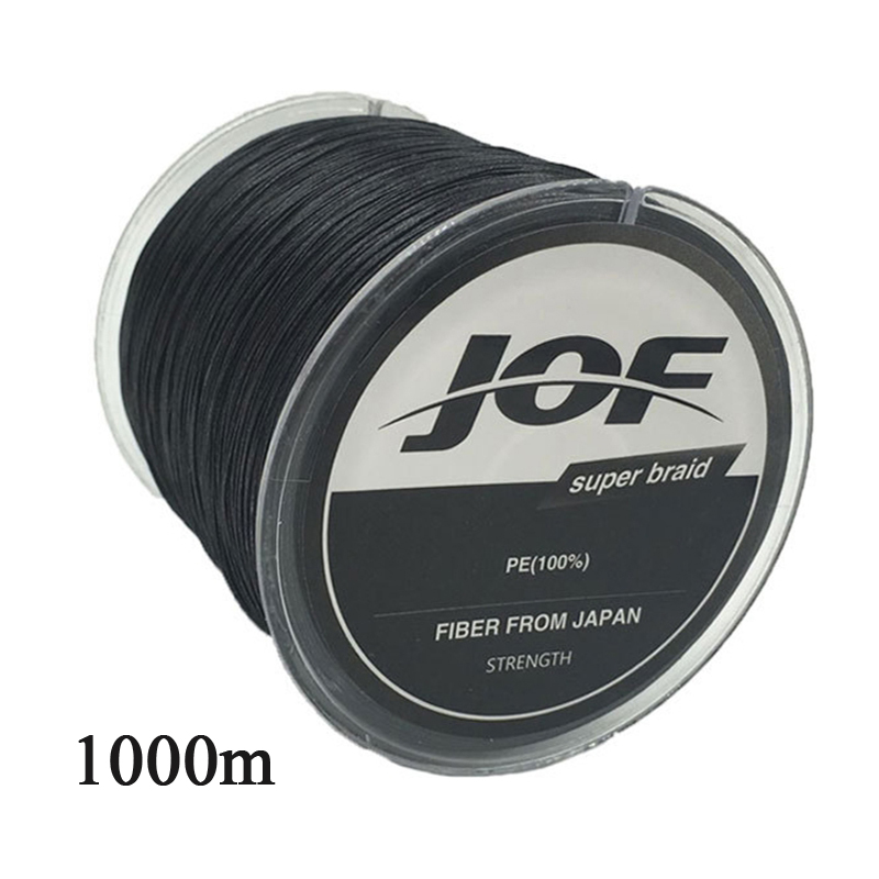 JOF 1000M Fishing Line Super Strong Japan Multifilament PE Braided Fishing Line 4 Strands Super Strong 8 10 20 30 40 60 80 100LB oem odm custom plastic injection mould with high tech good price made in china