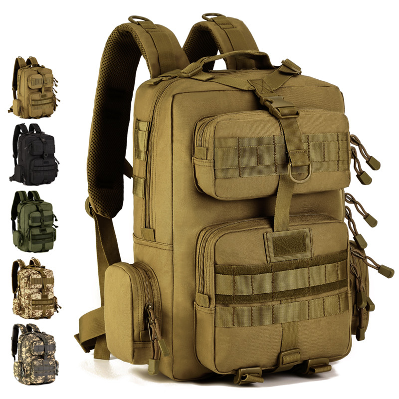 30L Military Tactical Army Molle Nylon Waterproof Shoulder Bag Pack Men Outdoor Travel Hiking Camping Climbing Backpack Rucksack
