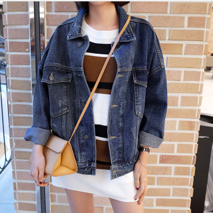 winter Vaquera Jacket Denim Oversized Oversize Chaqueta Aliexpress q8YxYw 9967c79fa80