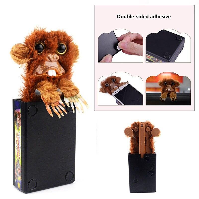Funny Kids Tricky Toys Mischievous Monster Prank Monkeys Plastic+Plush Random