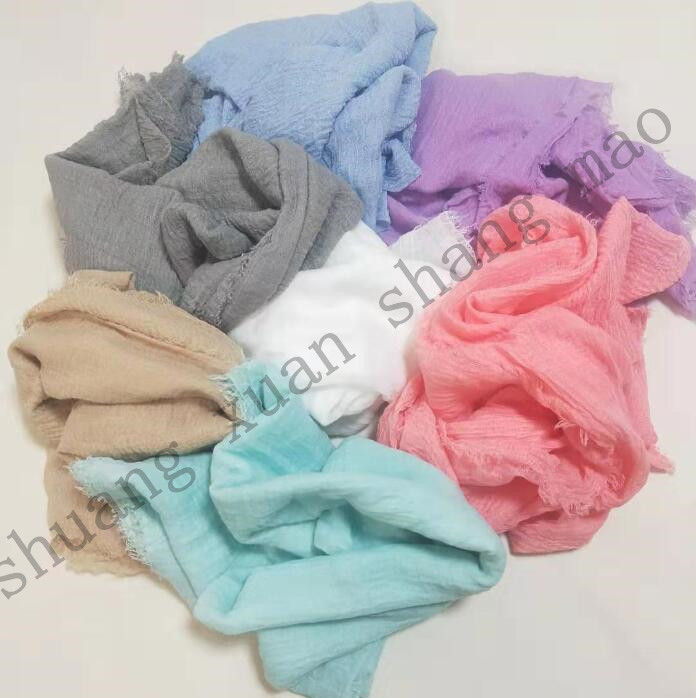 180*90cm  Hand Dyed Cheesecloth Gauze Net   Wrap,baby To Maternity,photography Props  Newborn Photography Background