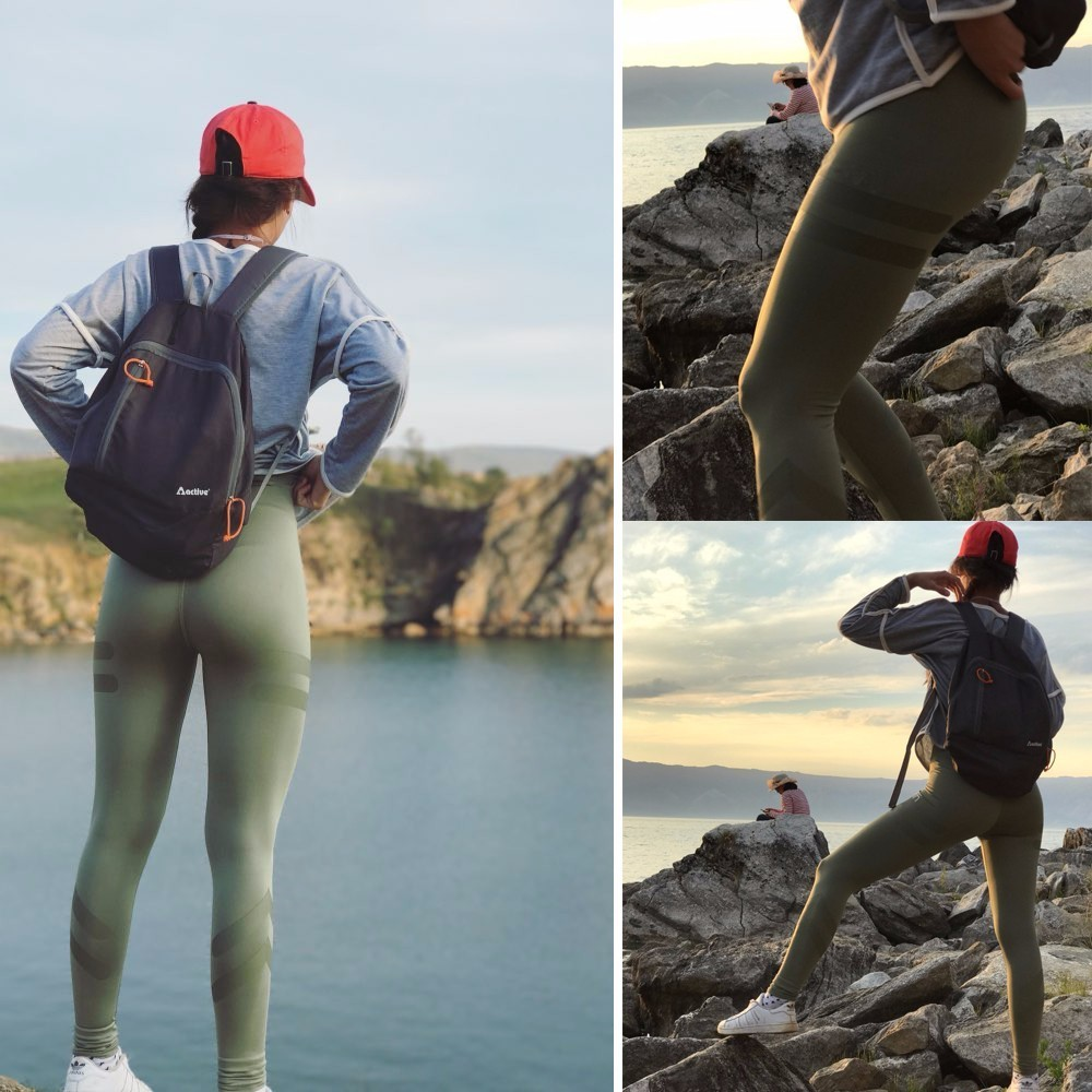 3 Colors Army Green Sporting Leggings Clothing For Women's Fitness Quick Dry Pants High Waist Leggins Fitness Workout Leggings 3