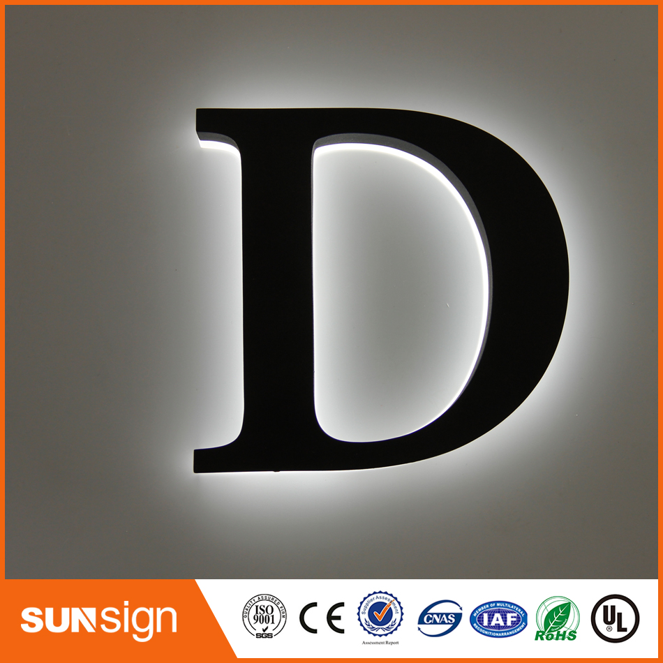 Wholesale Decorative Acrylic LED Letters Light