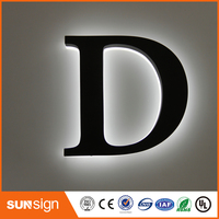wholesale decorative acrylic LED letters light