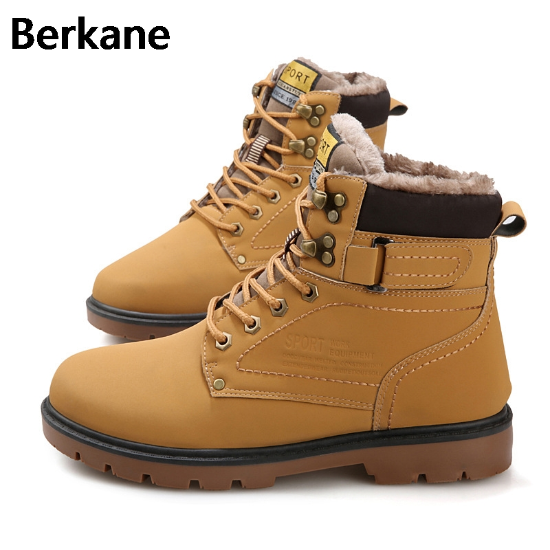 Click here to Buy Now!! Armée Bottes Mens Militaire Désert Bottes  Chaussures Hommes Bois Bottes En Cuir En Plein Air Étanche Martin D 520350bfa4b