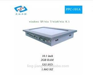 Image 4 - Fanless 10,1 Inch Heißer verkauf touchscreen Alle in einem pc Intel Atom N2800 1,86 Ghz Industrie Panel PC