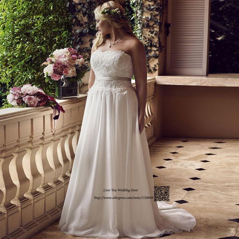 Inexpensive Plus Size Wedding Gowns: Vestido De Noiva Plus Size Wedding Dress Cheap China