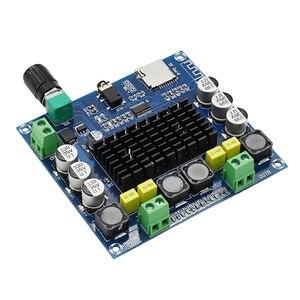 Image 2 - TDA7498 Bluetooth 5.0 Bordo Dellamplificatore di Potenza Digitale Esperienza HD carta di TF di Sostegno AUX Dual Channel 100W * 2 Audio amplificatore Stereo