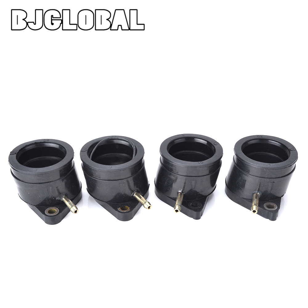 Motorcycle Carburetor Interface Adapter Intake Manifold Joint Boot Pipe Glue For Yamaha XJ 900 900F 31A 13586 00 31A 13586 00 in Carburetor from Automobiles Motorcycles