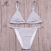 Raintropical Mini Micro Brazilian Bikini Women Swimwear 2017 Summer Sexy Bikini Set Beach String Thong Swimsuit
