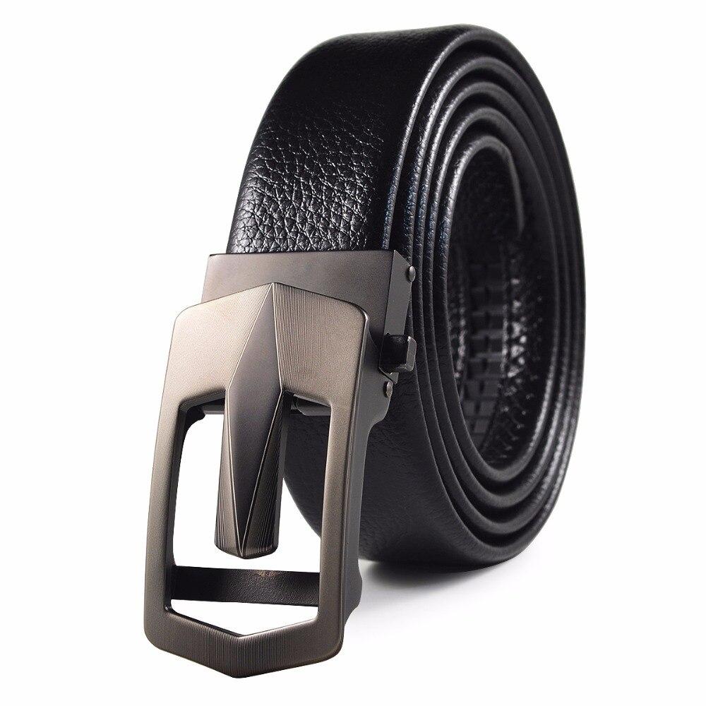 New Arrival Brand Designer Belts Men High Quality Male Brand genuine Belts for Men Automatic Buckle Strap