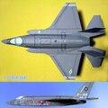 Discrição eua de lutador F35 modelo de papel DIY arte papel artesanal brinquedos