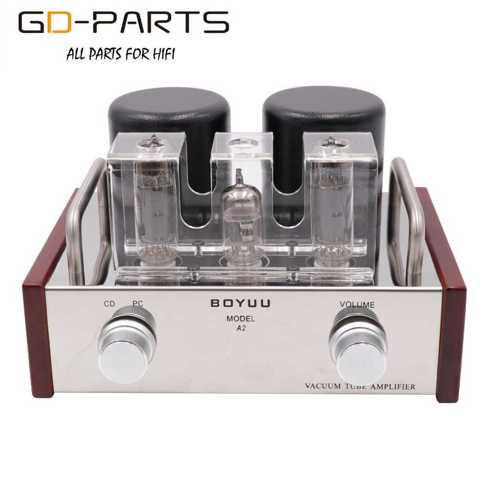 Desktop Stereo Single End EL84 12AX7 Vacuum Tube Amplifier Class A Tube AMP Hifi Audio Vintage Integrated Tube AMP 3.6W 6sn7x2 12ax7 hi end class a pure tube headphone amplifier hifi stereo preamplifier silver black