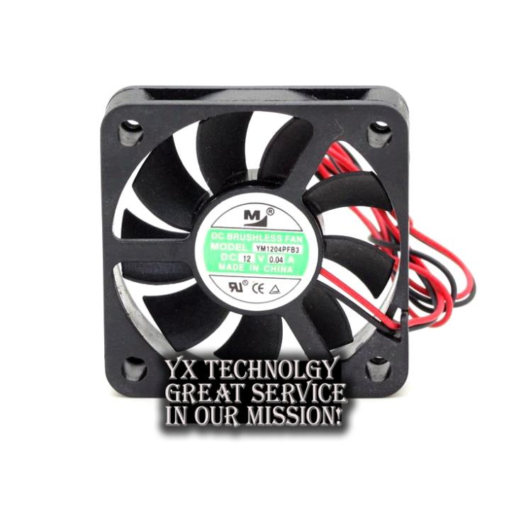 New YM1204PFB3 4010 4CM 12V 0 04A ultra quiet double ball bearing fan for First Union