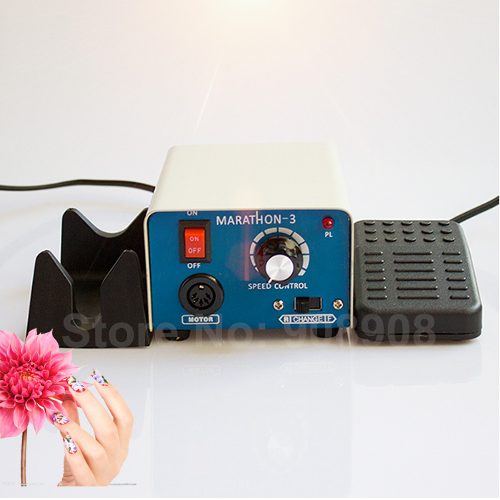 Dental Laboratory, Nail Drill File & Podology, Hobby Marathon-3 Micromotor Polishing Grinder Power Engine 65W 35K RPM Only