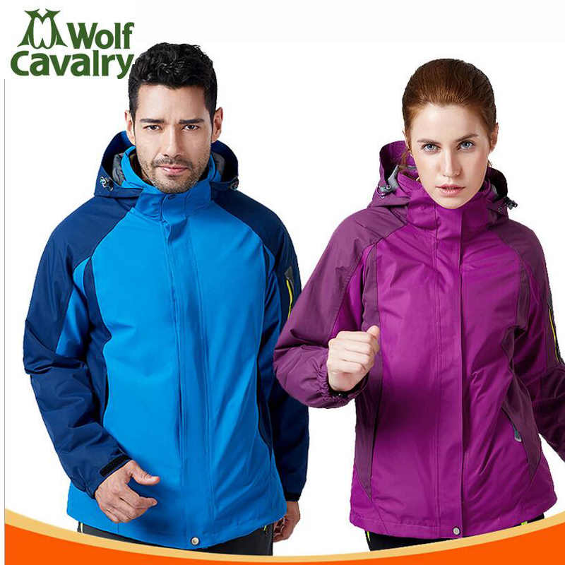 Thick autumn and winter Outdoor Jacket Women Waterproof Jacket men Camping Hiking Sport Windbreaker coat men winter outdoor jacket autumn hiking
