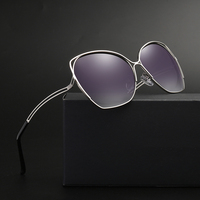 2018 New Luxury Brand Designer Ladies Oversized Butterfly Sunglasses Women Personality Frame Mirror Sun Glasses For