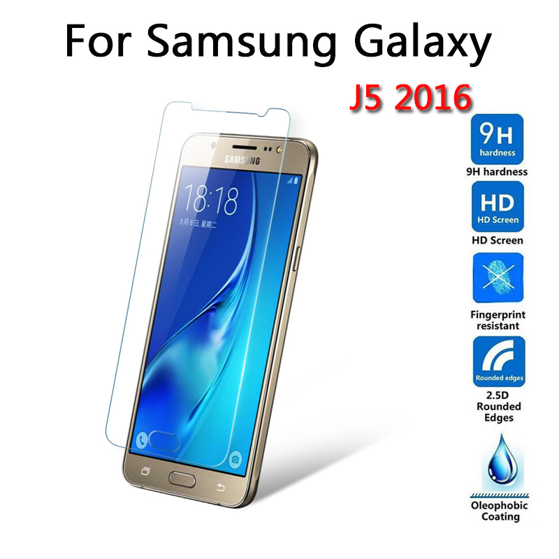 Screen Protection Tempered Glass For Samsung Galaxy J5 2016 J5100 Screen Protector Film 9H Ultra-thin Hardness Scratch Proof