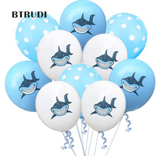 BTRUDI 2019 New 10pcs  Colour Dinosaur Printed 12-inch 2.8 Latex Balloon Theme Decoration for Childrens Birthday Party balloons