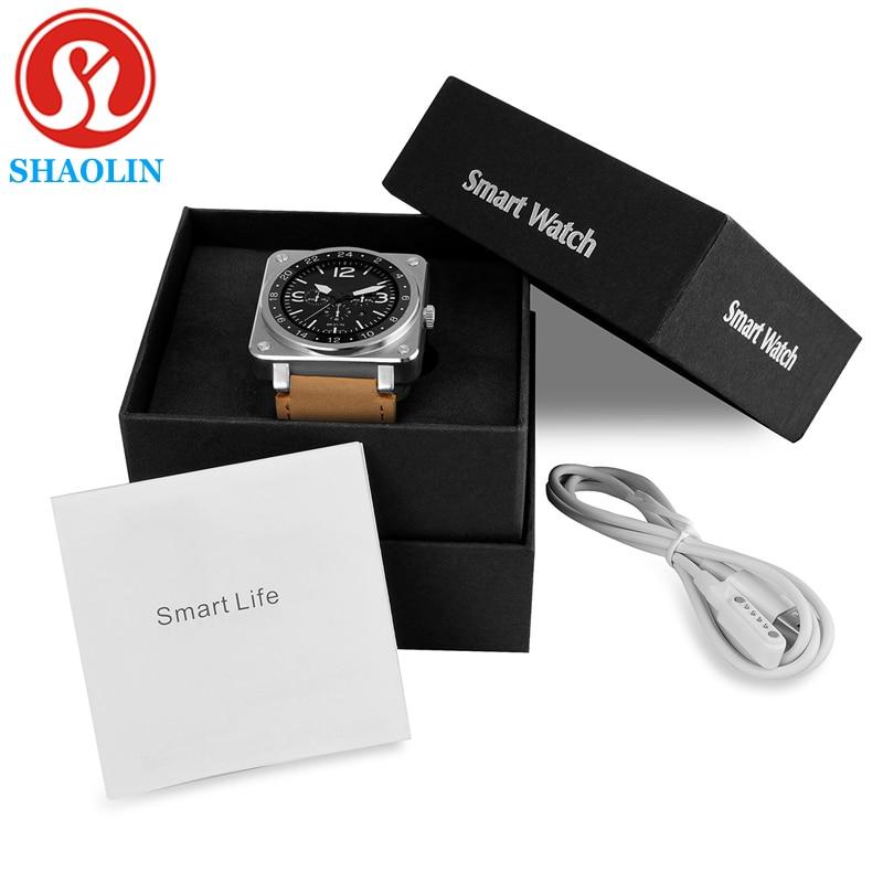 imágenes para Us18 smart watch 1.22 pulgadas tft lcd de alta definición de pantalla 64 mb + 128 mb de memoria bt4.0 300 mah batería ritmo cardíaco del sueño monitor podómetro btuetooth