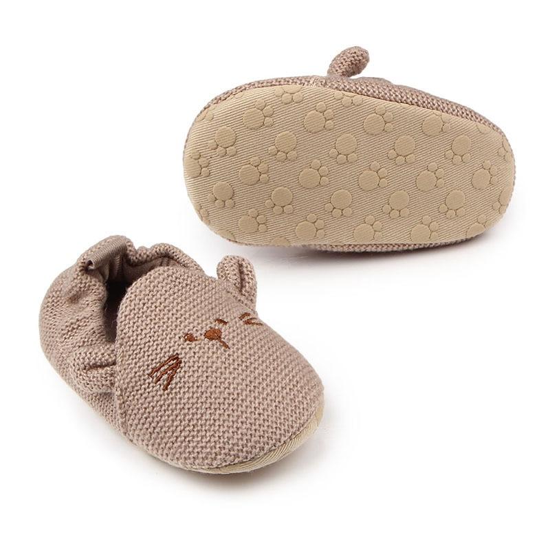 Newborn Baby Floor Shoes soft soles baby first walker Slippers Toddler Baby Boys Girl Crib Shoes Cartoon Prewalker Slippers