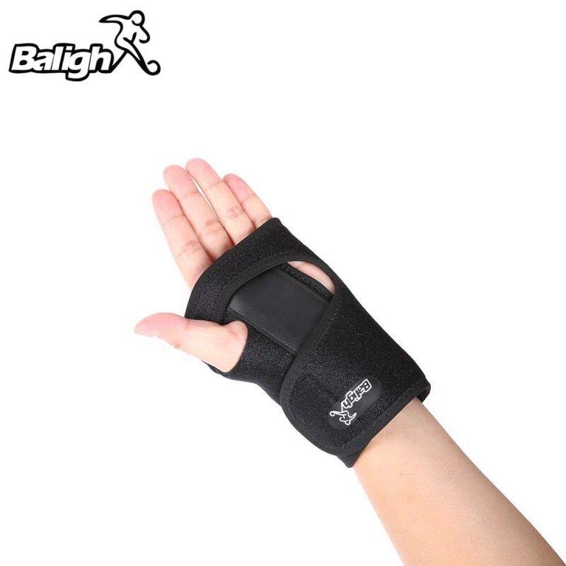Detachable Fixed Steel Splint Wrist Sprain Support Sports Brace Protector 1pcs