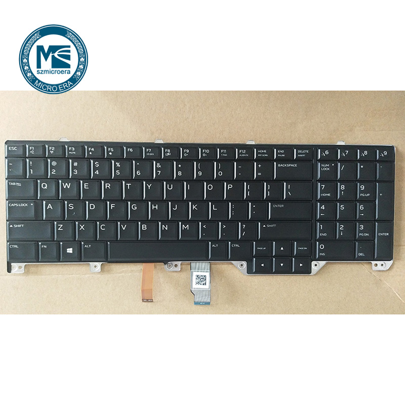 laptop keyboard for DELL for Alienware 17R4 US layout 95%new-in Replacement Parts & Accessories