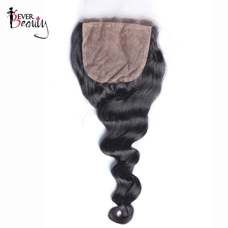 Шелковая основа, бразильские свободные волнистые 100% человеческие волосы с детскими волосами, скрытые волосы Ever Beauty Remy