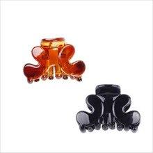 9377 Fashion Women crab Hair claw clip Girls Brown Black Plastic Mini Hairpin Claws Clip Clamp For  3*2cm 12pcs/lot