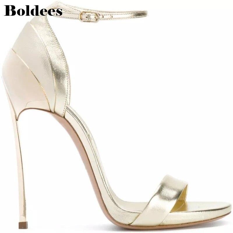 3ff4039b Caliente Talón Plataforma De Tacones Zapatos Showed 2018 Super Boda Color Sandalias  Alto as Mujeres Sandalia ...