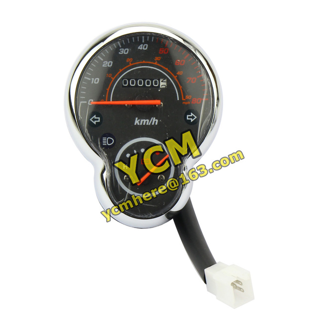Electric Scooter 48V Instrument Motorcycle Speedometer Tachometer Chinese Princess Moped Meter YB-XGWJX-48V