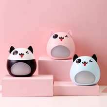USB Air Humidifier Ultrasonic Essential Oil Aromatherapy Diffuser with Night Light for Spa Office Car