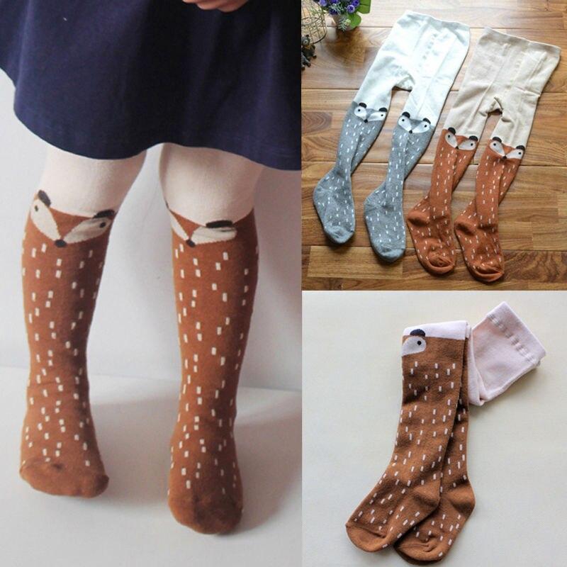 Aggressiv Baby Kinder Mädchen Baumwolle Fuchs Baumwolle Weiche Atmungsaktive Lange Socken Strumpfwaren Strumpfhosen Socken 1-5y