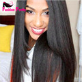 100% Virgin Brazilian Human Hair Italian Yaki Straight Full Lace Wigs & Lace Front Wigs For Black Women With Baby Hair
