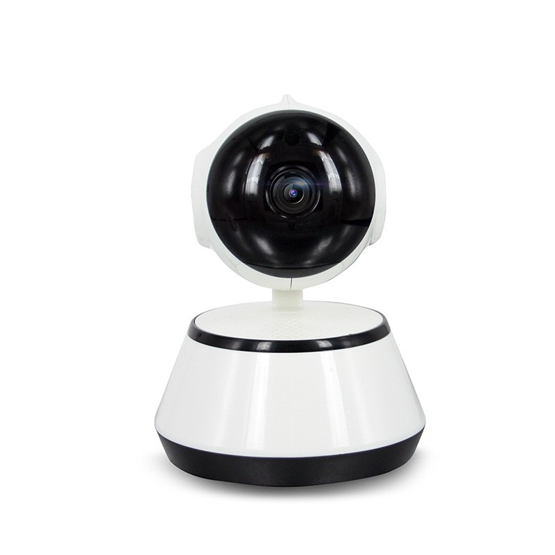 Wireless surveillance camera has a card reader wifi home phone wide-angle panorama 1 million pixelsWireless surveillance camera has a card reader wifi home phone wide-angle panorama 1 million pixels