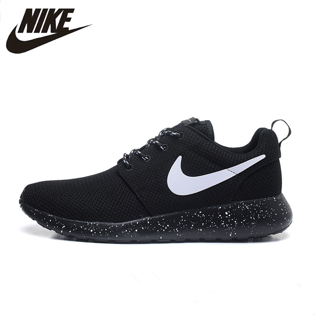 Nike ROSHE ONE Original New Arrival Authentic Men s ROSHE RUN Running Shoes  Sneakers Trainers 511882-011 d302fc91292e