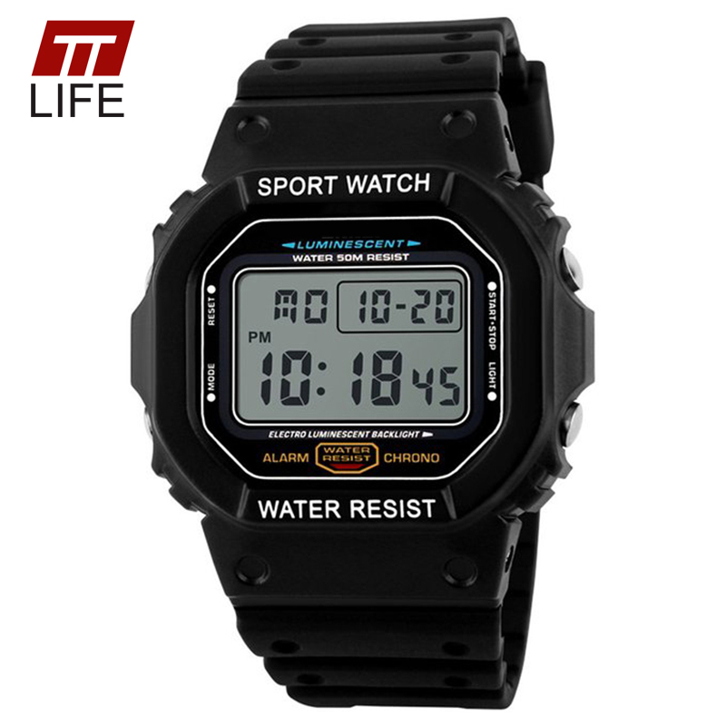 2016 TTLIFE brand Watches Men Military LED Digital Watch Man Dive 50M Fashion Outdoor Sport Wristwatches clock relogio masculino