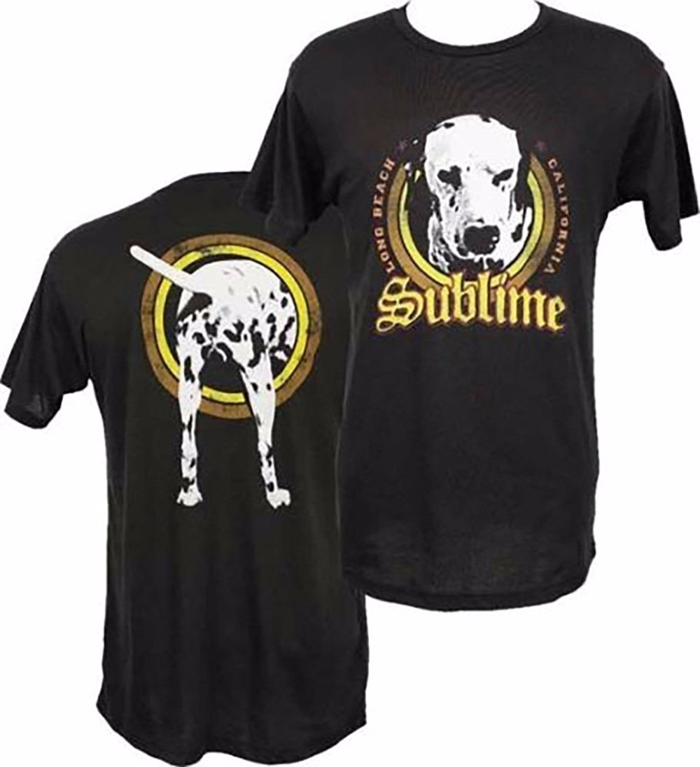 Tee Shirt Homme Tshirt Men Funny Free Shipping Bob Sublime Lou Dog Mens Black T-ShirtNew ...