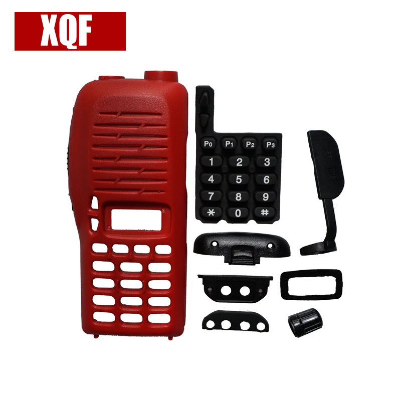 XQF New Front Outer Case Housing Cover For ICOM IC-V8