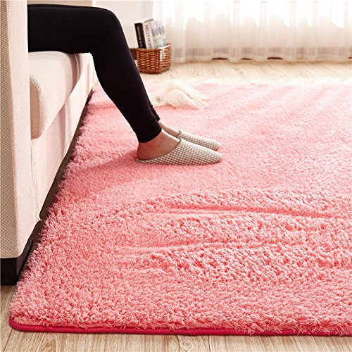 Large Size Home Floor Shaggy Carpet Soft Living Room Rug Modern Shag ...