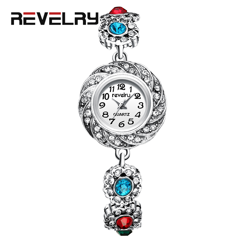 REVELRY Women Luxury Brand Watch Simple Quartz Watch Lady Waterproof Wristwatch Female Fashion Casual Bracelet Watches Clock