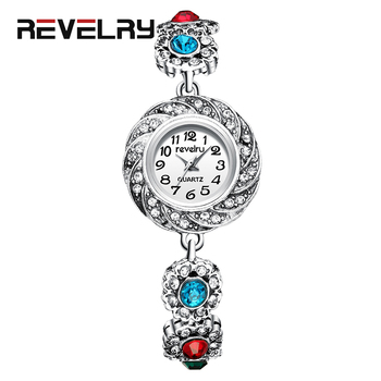 REVELRY Women Luxury Brand Watch Simple Quartz Watch Lady Waterproof Wristwatch Female Fashion Casual Bracelet Watches Clock swatch watch the lady series leisure fashion quartz female watch lw162