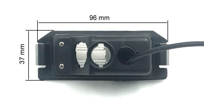 For Hyundai i10 i20 2008~2018 Car Rear View Camera HD CCD Night Vision Reverse Parking Backup Camera NTSC PAL (2)