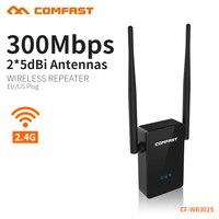 6 ADET COMFAST 300 mbps Kablosuz Wifi Router Wi-Fi Tekrarlayıcı 2.4 Ghz 802.11n Router Ile 2 * 5dbi Anten Inşa Çift Çip AB ABD fiş