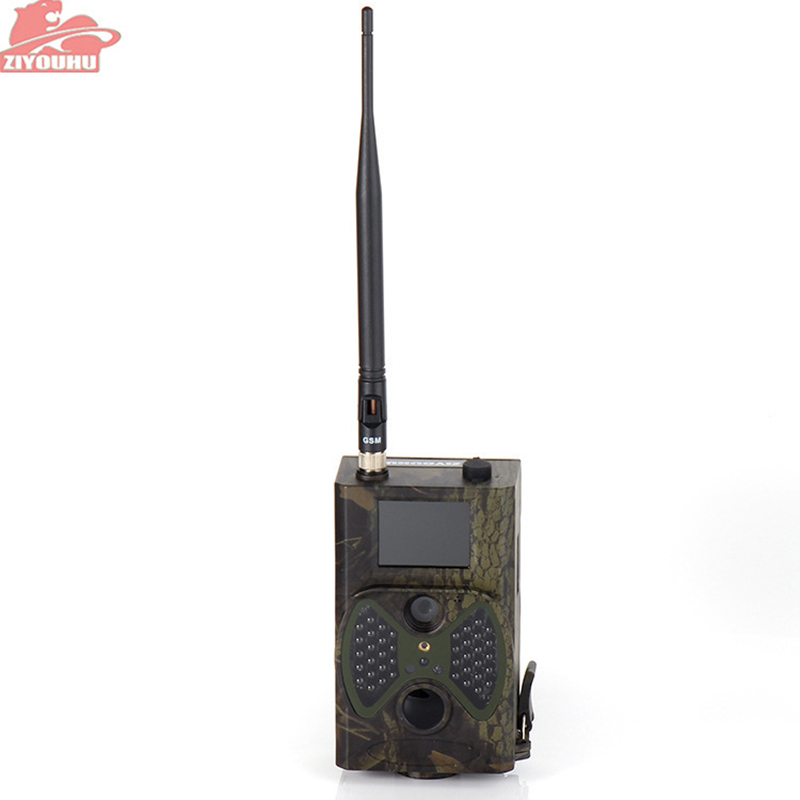 ZIYOUHU chasse sauvage caméra Trail Vision nocturne piège infrarouge Animal caméscope faune forêt caméra chasse Trail caméra