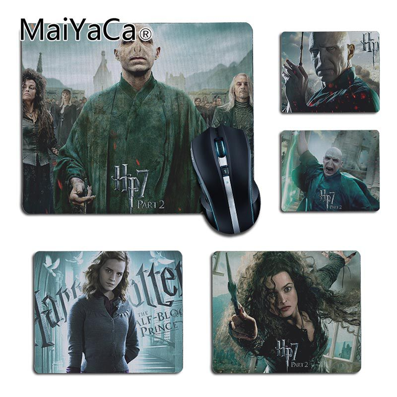 MaiYaCa Personalized Cool Fashion harry potter magic small Gaming MousePads Size for 25X29cm 18x22cm Gaming Mousepads ...
