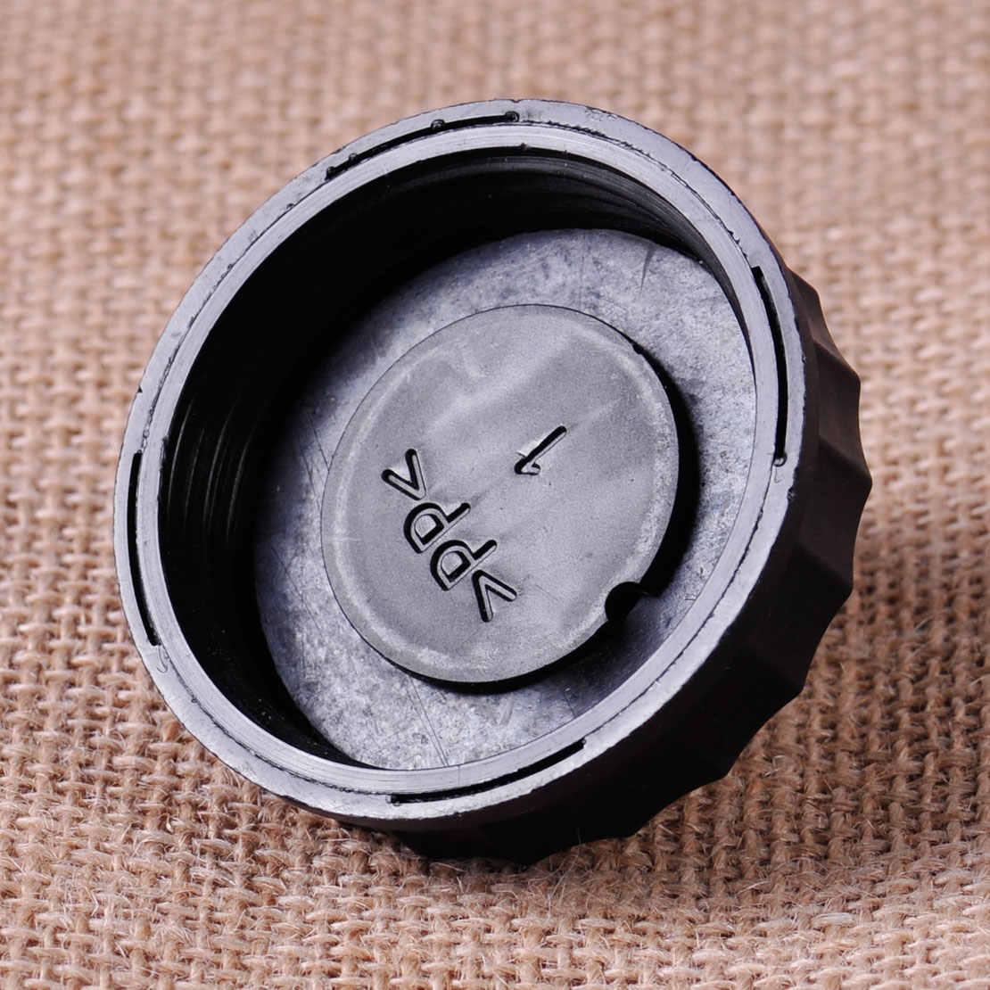DWCX สีดำ Brake Fluid Reservoir ถังหมวกสำหรับ Peugeot 206 306 307 308 408 508 2007 2008 2009 2010 2011 2012-2015