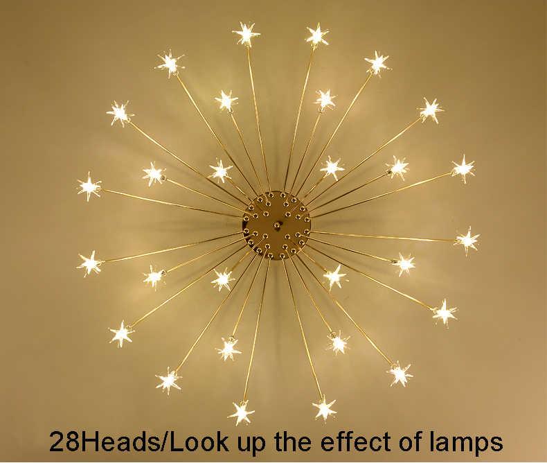 Современный светодиодный потолочный светильник, стеклянный светильник для спальни, кухни, детской комнаты, потолочный светильник, дизайнерский светильник, светильники