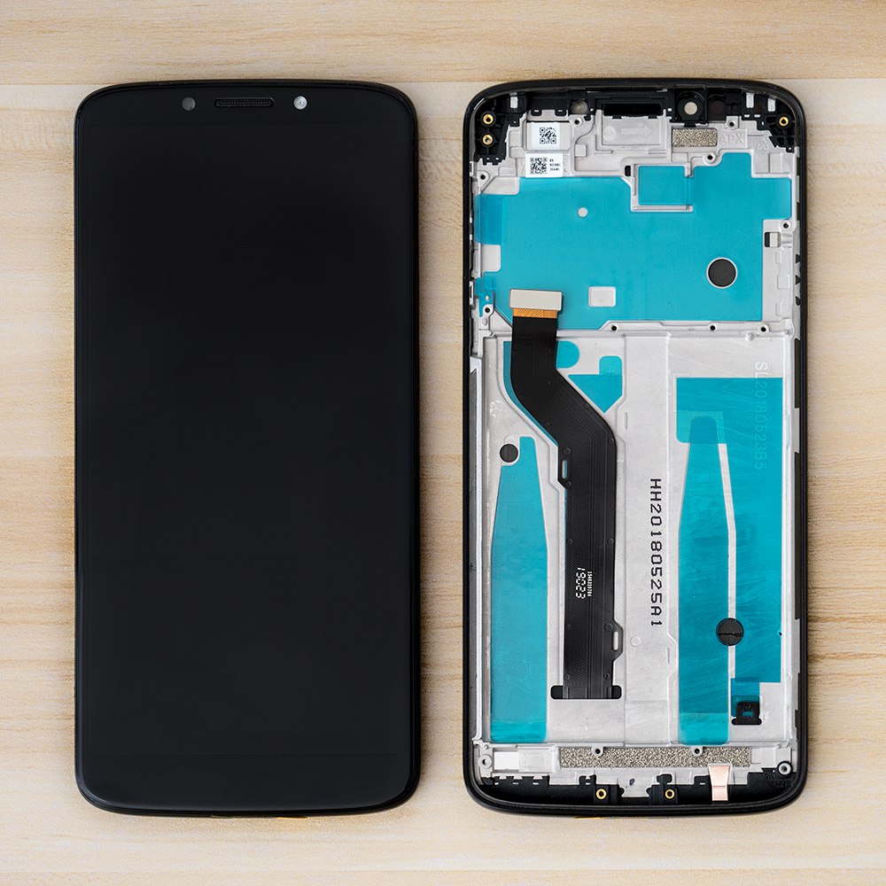 6.0 ''LCD Para Motorola Moto E5 Plus XT1924 Display LCD Touch Screen Digitador Assembléia Quadro Para Moto E5 Mais LCD substituição