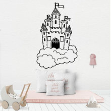 Wall Decal castle Sticker Self Adhesive Vinyl Waterproof Art Mural Wallpaper Creative Stickers